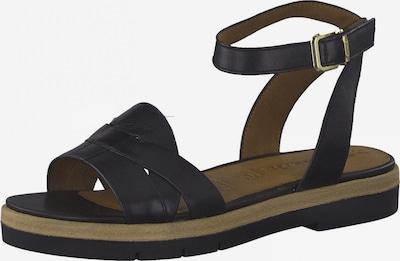 Sandale cu baretă TAMARIS pe negru, Vizualizare produs