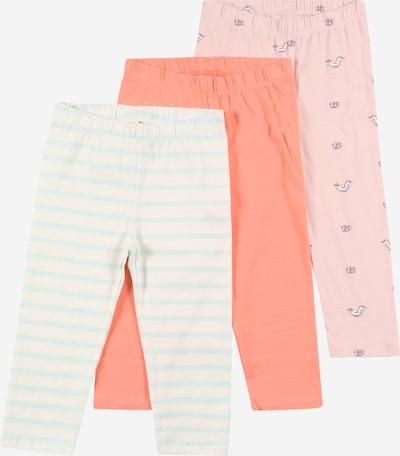 GAP Leggings en bleu clair / corail / rose ancienne / blanc, Vue avec produit