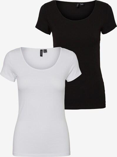 VERO MODA T-Shirt in schwarz / weiß, Produktansicht