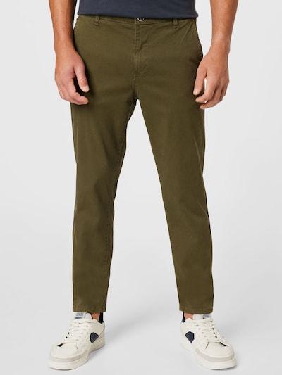 JACK & JONES Pantalon chino 'Marco Fred' en olive, Vue avec modèle