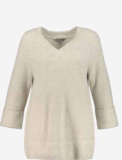Ulla Popken Pullover in sand, Produktansicht