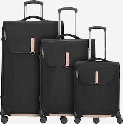 bugatti Kofferset (3 tlg.) in schwarz, Produktansicht