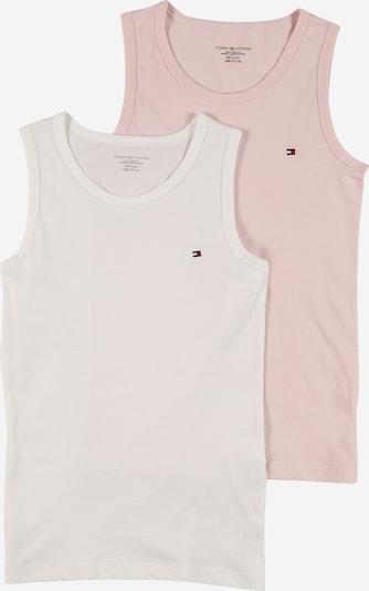 Tommy Hilfiger Underwear Unterhemd in navy / altrosa / feuerrot / weiß, Produktansicht
