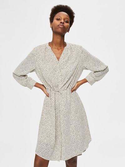 SELECTED FEMME Blusenkleid 'Damina' in creme / schwarz, Modelansicht