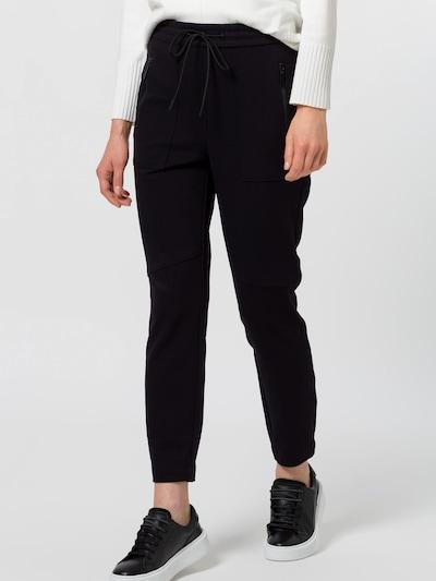 zero Jogpant in schwarz, Modelansicht
