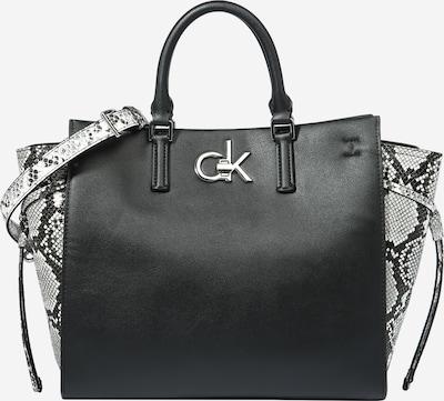 Calvin Klein Shopper in Grey / Black / White, Item view