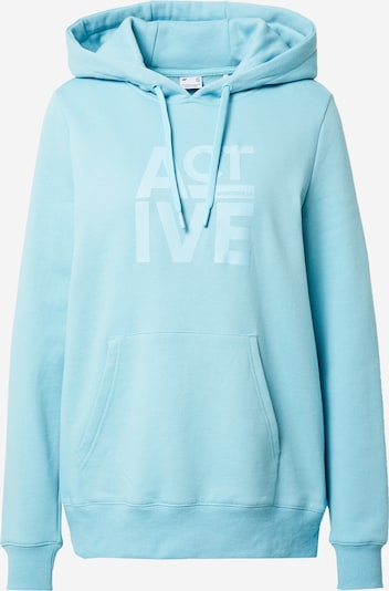 4F Sportsweatshirt in aqua, Produktansicht