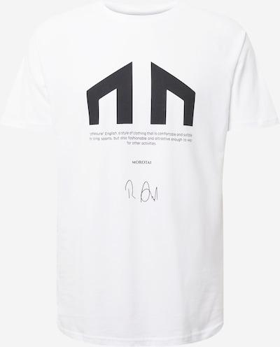 MOROTAI T-Shirt in schwarz / weiß, Produktansicht