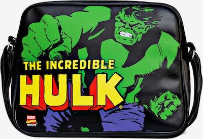 LOGOSHIRT Tasche 'Hulk' in schwarz, Produktansicht