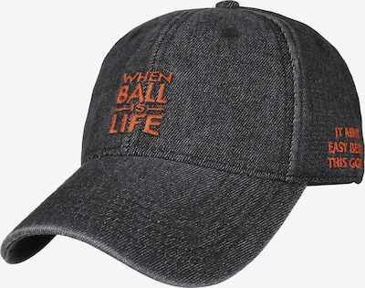 Cayler & Sons Cap 'WL Life Dad' in rot / black denim, Produktansicht