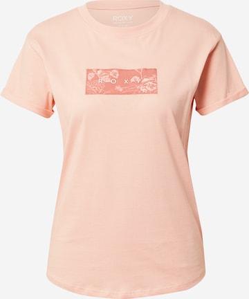 Tricou 'EPIC AFTERNOON' de la ROXY pe roz