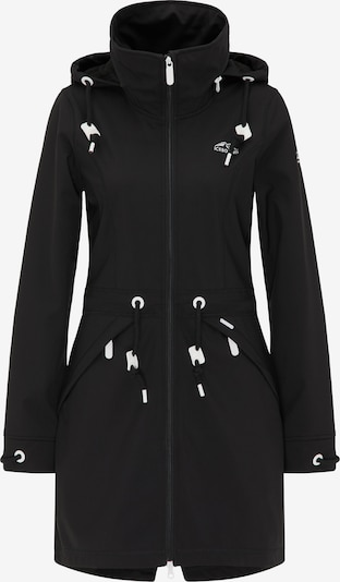 ICEBOUND Mantel in schwarz / weiß, Produktansicht