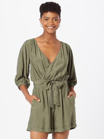 Salopeta 'SOPHIE' Pepe Jeans pe oliv, Vizualizare model