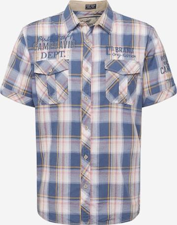 CAMP DAVID Hemd in Mischfarben