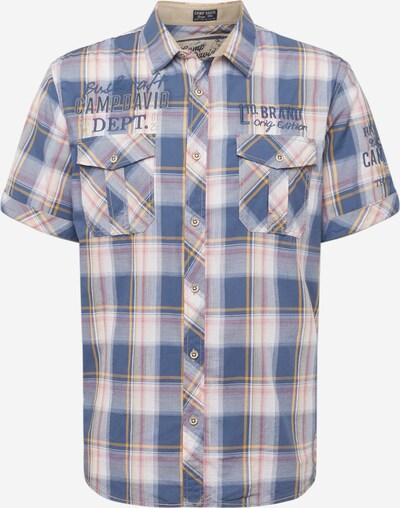 CAMP DAVID Skjorta i blå / röd / vit, Produktvy