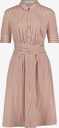 Betty & Co Hemdblusenkleid mit Streifen in creme / braun, Produktansicht