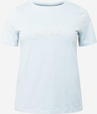 Tricou 'CARUH' ONLY Carmakoma pe azur, Vizualizare produs