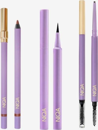 NIQA COSMETICS Lippenstift NIQA GLAMOUR SET in schwarz, Produktansicht