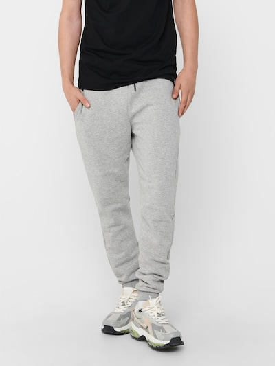 Only & Sons Pantalon 'CERES' en gris, Vue avec modèle