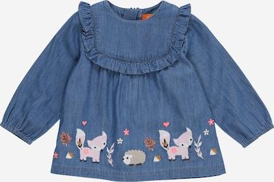 STACCATO Bluse in blue denim / mischfarben, Produktansicht