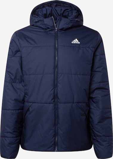 ADIDAS PERFORMANCE Sportjas in de kleur Nachtblauw / Wit, Productweergave