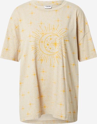 Noisy may Shirt 'IDA' in kitt / goldgelb, Produktansicht
