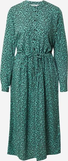 Moves Robe-chemise 'Tanisa' en vert / noir, Vue avec produit
