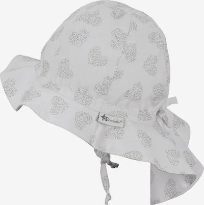 STERNTALER Chapeau en argent / blanc naturel, Vue avec produit
