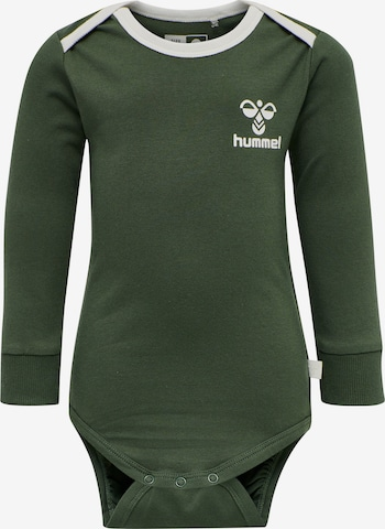 Barboteuse / body Hummel en vert