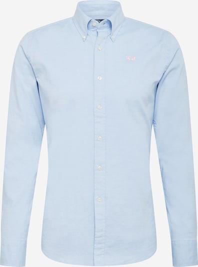 Dalykinio stiliaus marškiniai iš La Martina, spalva – šviesiai mėlyna / geltona, Prekių apžvalga