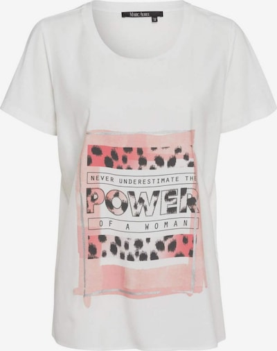 MARC AUREL Shirt in rosa / pitaya / schwarz / weiß, Produktansicht