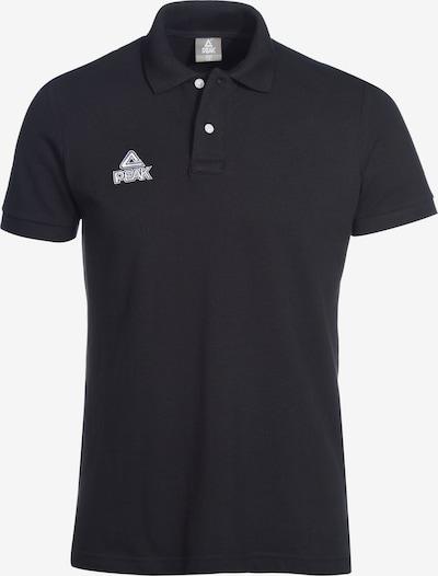 PEAK Trainingsshirt in schwarz: Frontalansicht