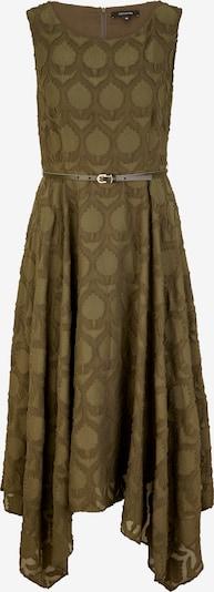 COMMA Robe en kaki, Vue avec produit
