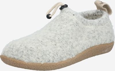 SHEPHERD OF SWEDEN Hausschuh 'Magda' in hellgrau, Produktansicht
