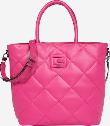GUESS Poodlemiskott 'BRIGHTSIDE', värv roosa