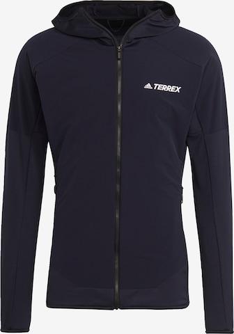 adidas Terrex Funktionele fleece-jas ' TERREX Skyclimb ' in Blauw