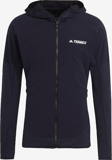 adidas Terrex Funktionsfleecejacke ' TERREX Skyclimb ' in marine / weiß, Produktansicht