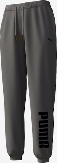 PUMA Sportbroek in de kleur Donkergrijs, Productweergave