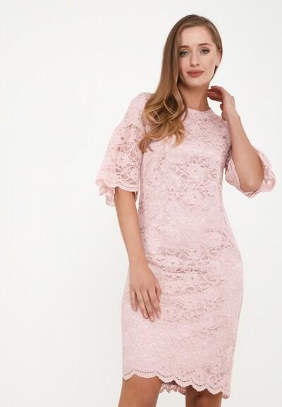 Madam-T Etuikleid 'Dega' in pink, Modelansicht