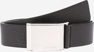 Curea Calvin Klein pe negru / argintiu, Vizualizare produs