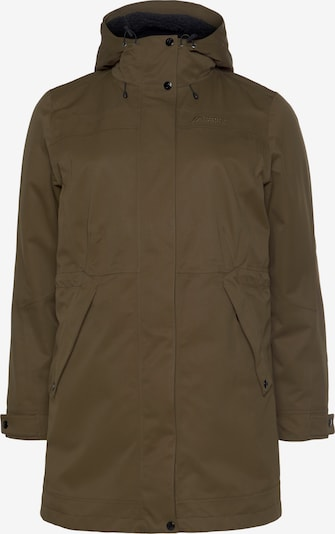 Maier Sports Outdoor Jacket in Navy / Brown, Item view