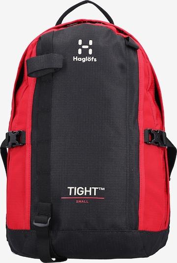 Haglöfs Rucksack in blutrot / schwarz / weiß, Produktansicht