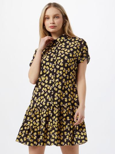 Rochie tip bluză Trendyol pe galben / negru, Vizualizare model