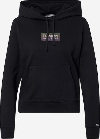 Tommy Jeans Sweat-shirt en noir, Vue avec produit