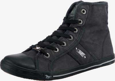 Sneaker înalt MUSTANG pe gri închis, Vizualizare produs