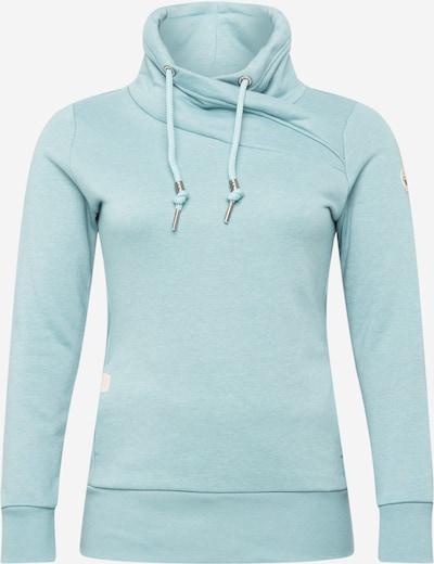 Ragwear Plus Sweat-shirt 'NESKA' en turquoise, Vue avec produit