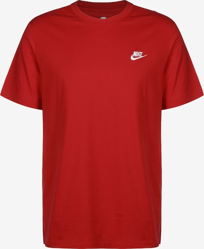 Tricou Nike Sportswear pe roșu / alb, Vizualizare produs
