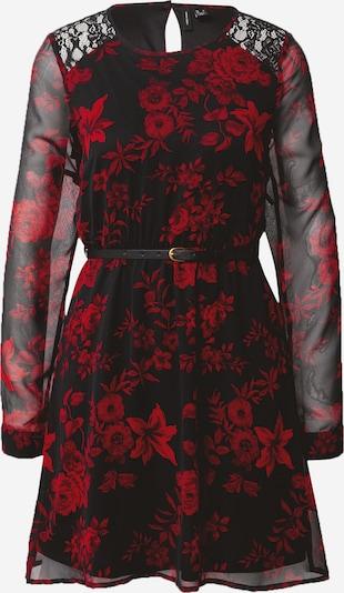 VERO MODA Robe 'Caroline' en rouge / noir, Vue avec produit