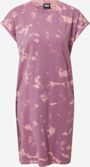 Urban Classics Kleid in dunkellila / rosa, Produktansicht