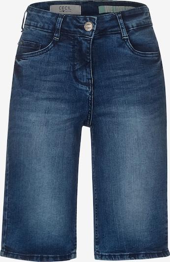 CECIL Slim Fit Denim-Shorts in blau, Produktansicht